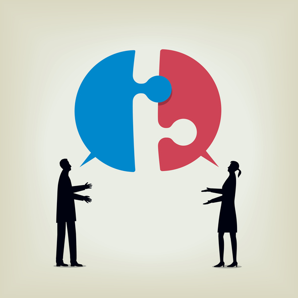 Two people disagree and fail to communicate. Martin Schweinsberg discusses three different types of negotiation impasses; wanted, forced, and unwanted, the factors through which they can occur, and the solutions they require to be resolved